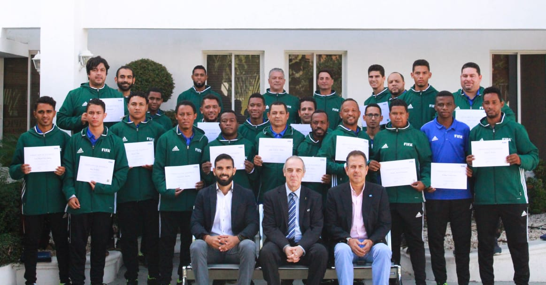 FIFA realiza curso para entrenadores de Fútbol Sala en Santo Domingo