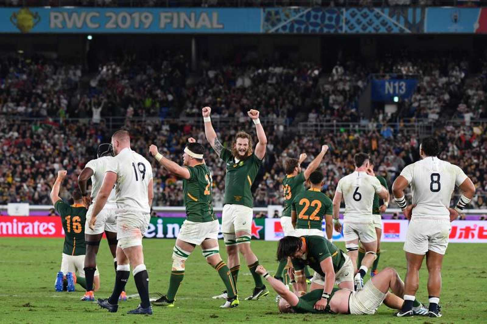 Sudáfrica gana mundial de rugby