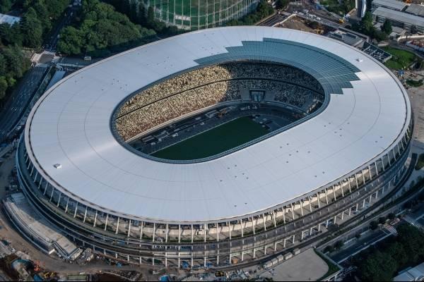 Nuevo Estadio Olímpico de Tokio para JJOO pasa prueba inspección
