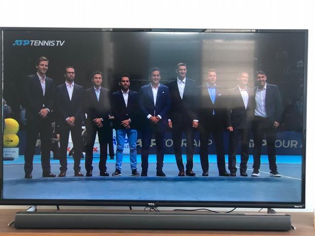 Víctor Estrella y otras ocho luminarias del tenis reciben honores de la ATP