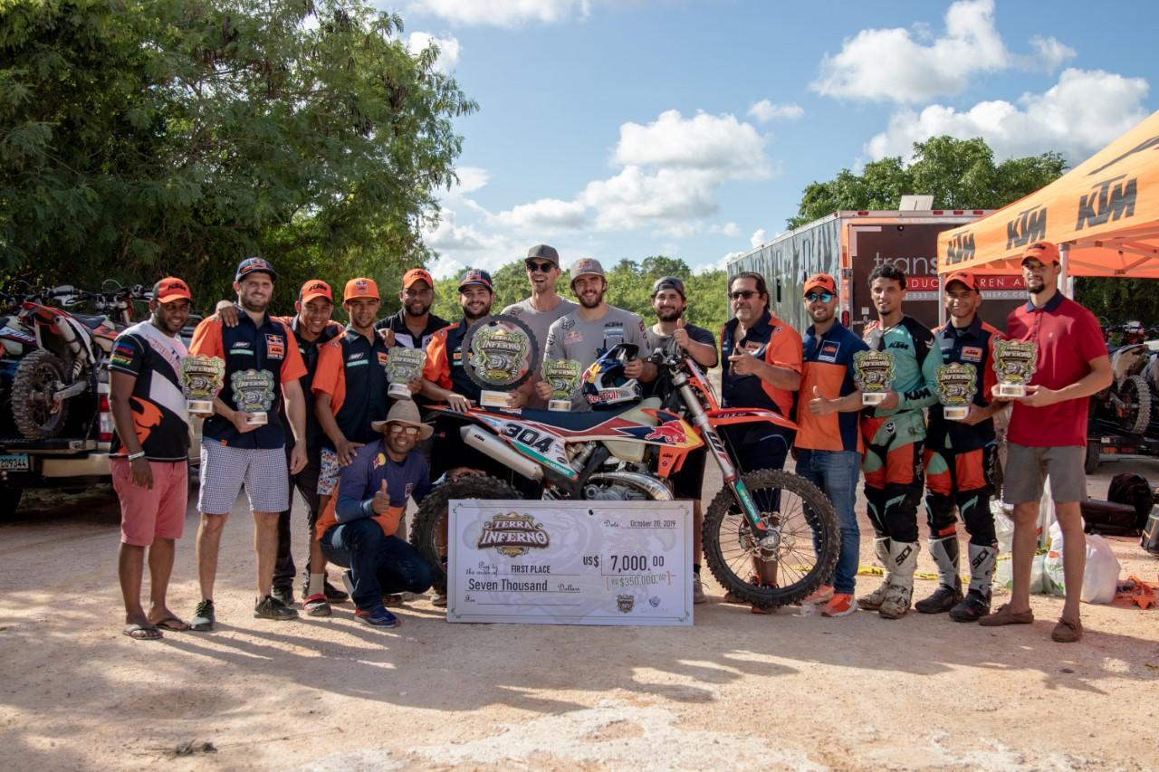 Team KTM RD logra primer lugar en el Hard Enduro Terra Inferno