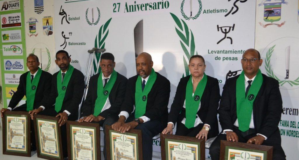Seis nuevos inmortales a la Galería de la Fama del Deporte Región Nordeste
