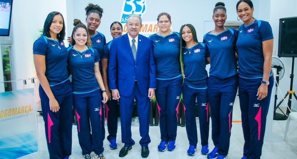 Reinas del Caribe reciben reconocimiento por desempeño en Mundial de Voleibol