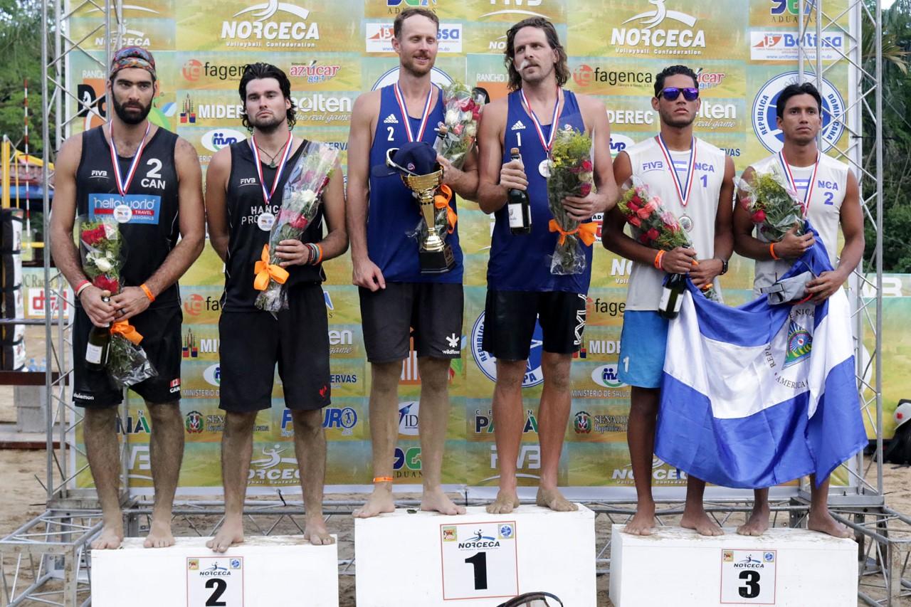 Casebeer y Schalk, campeones en Circuito NORCECA Voleibol Playa