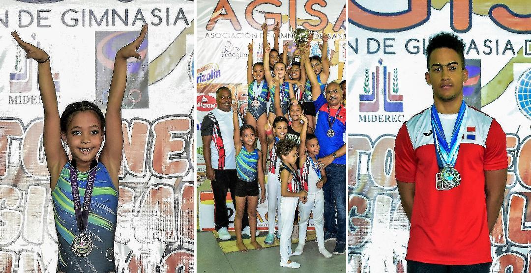 Santiago, primer lugar en torneo regional Norte de gimnasia