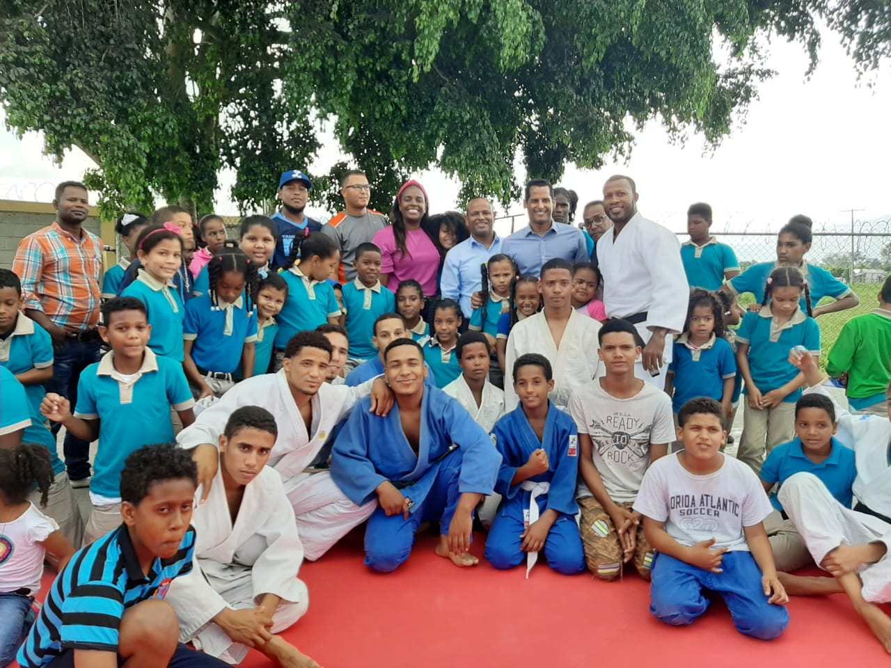 Fedojudo inaugura Proyecto Escolar en Rancho Arriba