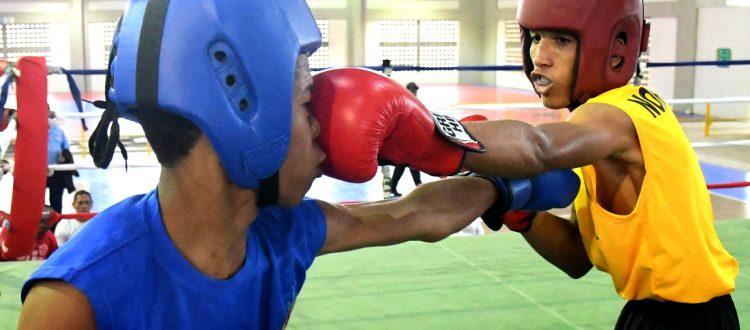 Seis púgiles de la Sexta Zona disputarán la final de boxeo de los Juegos Escolares