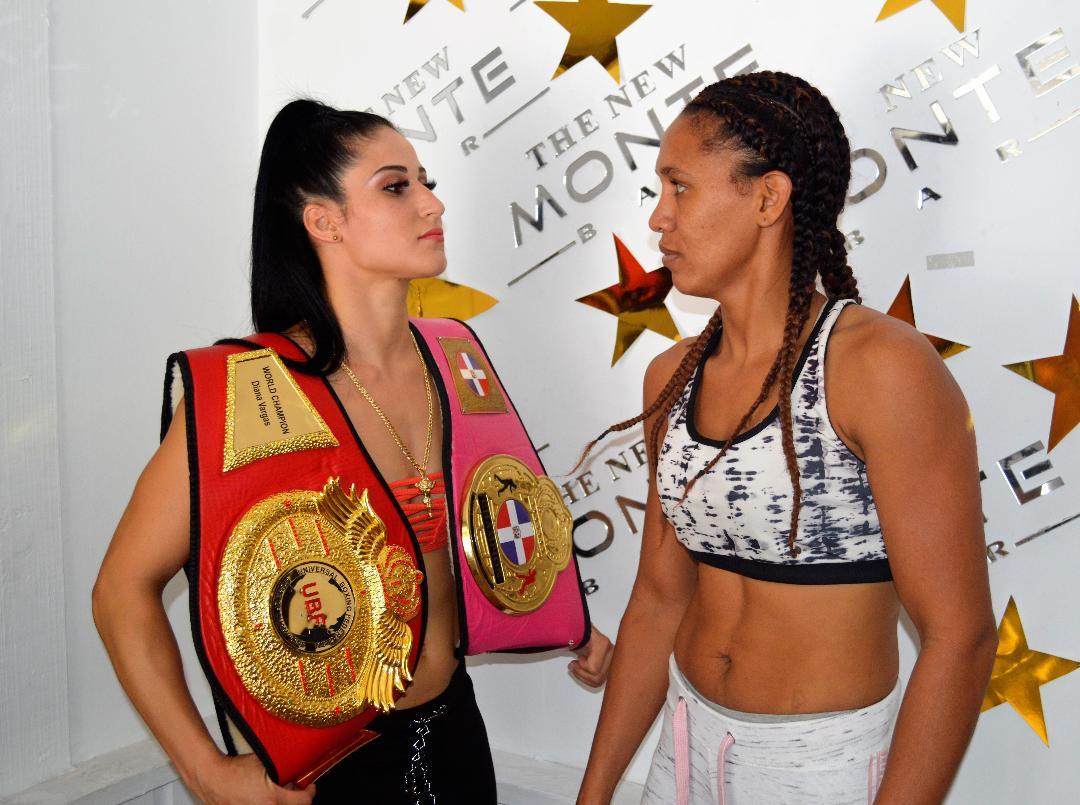 Campeona boxeo RD y UBF, Dyana Vargas defenderá corona el viernes