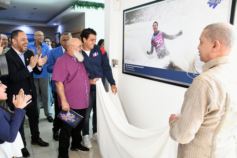 COD rinde homenaje Manolito Jiménez por premio Panam Sports