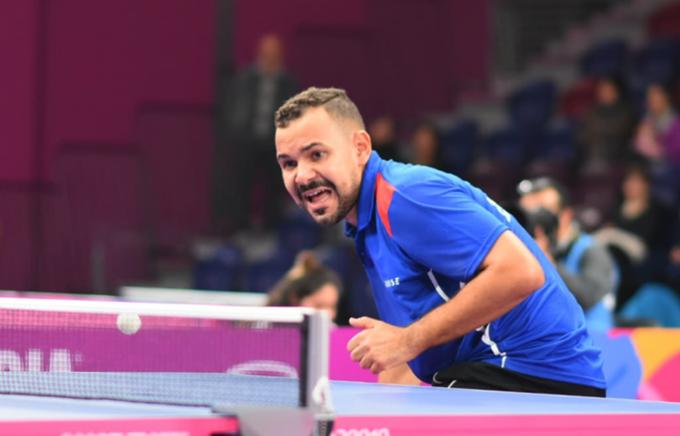 Emil Santos y Esmerlyn Castro competirán en Copa Panamericana de Tenis de Mesa
