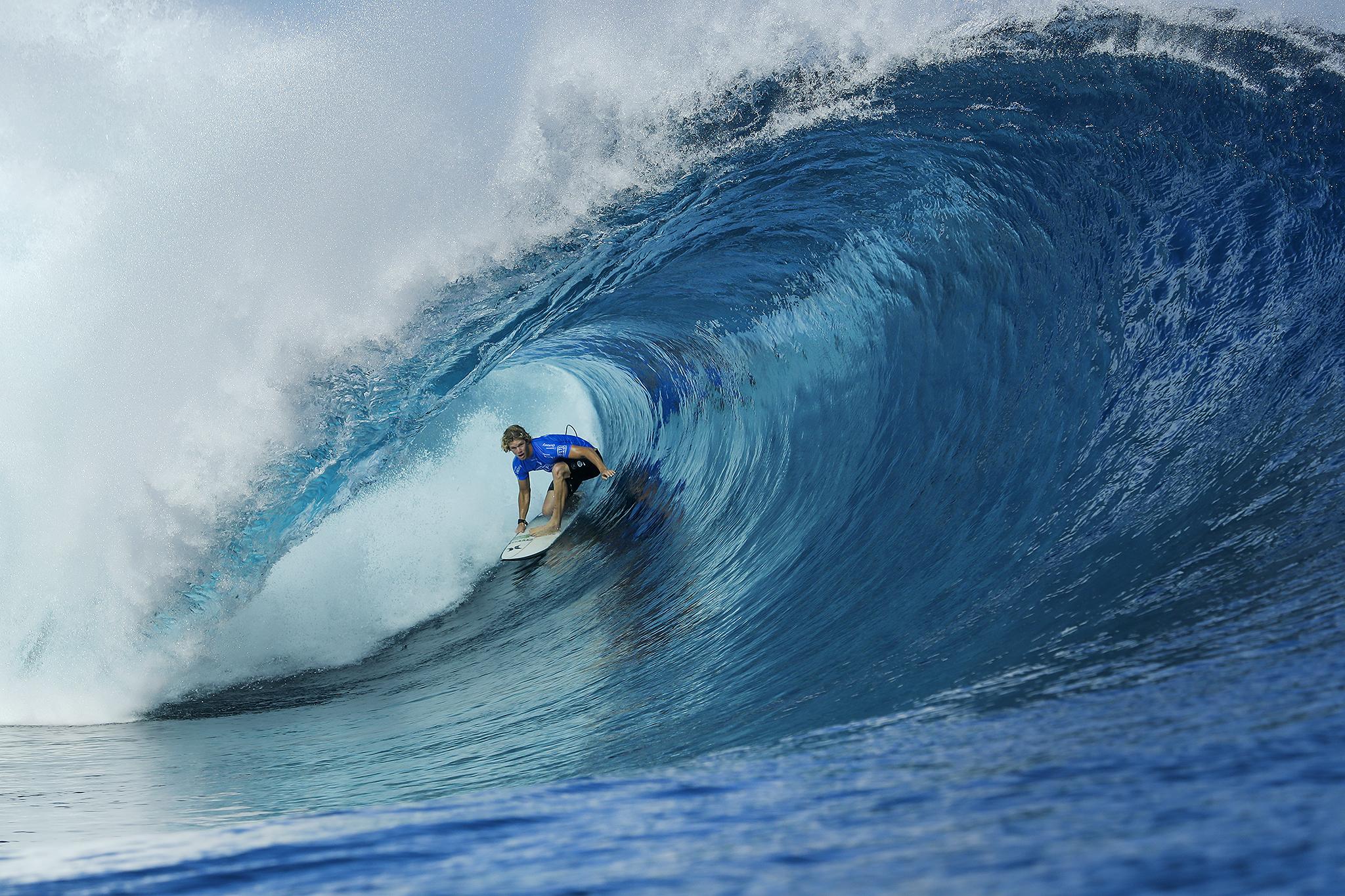 Tahití fue anunciado como sede del surf de París 2024
