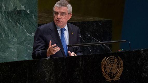 ONU apuesta a la tregua durante Juegos Olímpicos de Tokio 2020