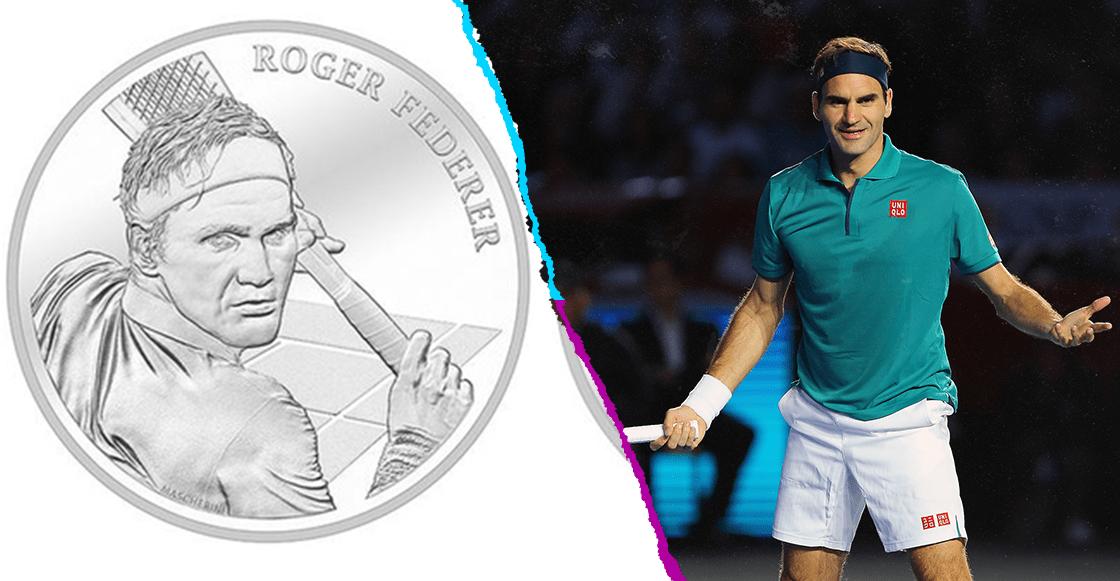 Figura de Federer será utilizada en moneda suiza