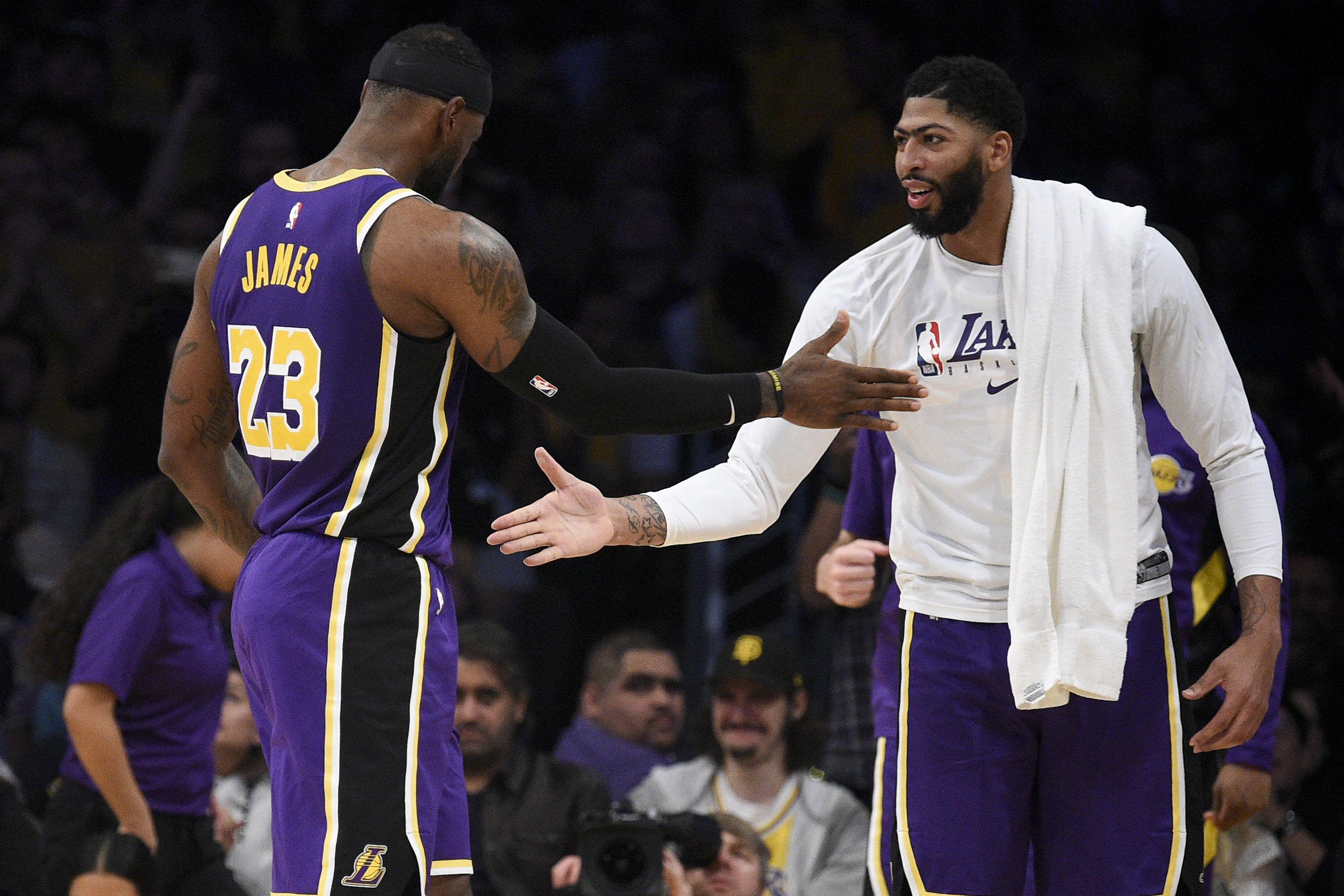 James y Davis estarán listos para enfrentarse a los Clippers