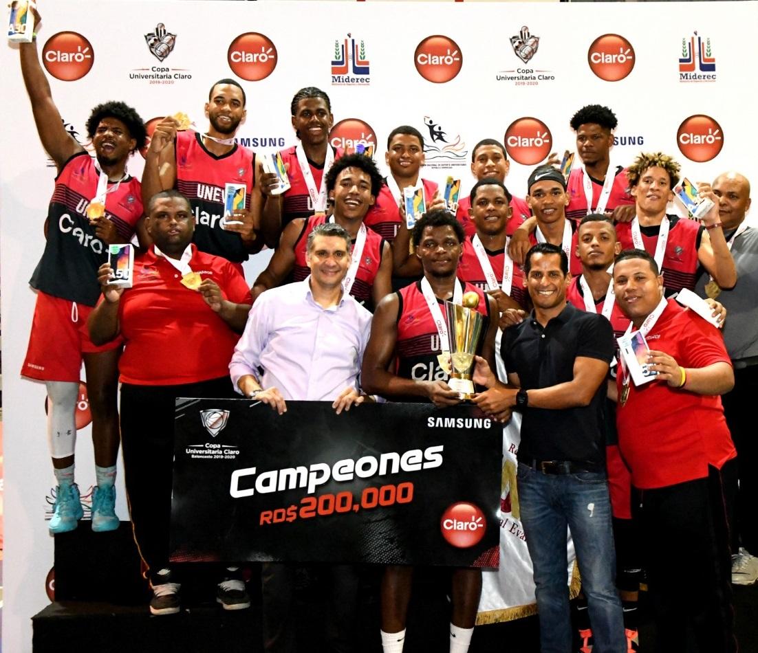 UNEV se corona campeón absoluto de la Copa Universitaria de Baloncesto