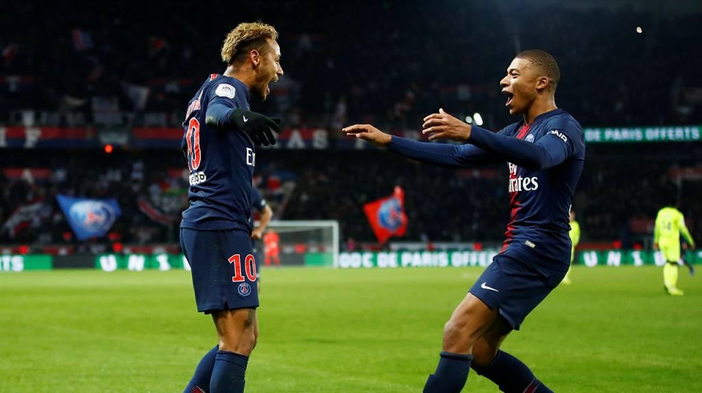 Mbappé a Neymar: