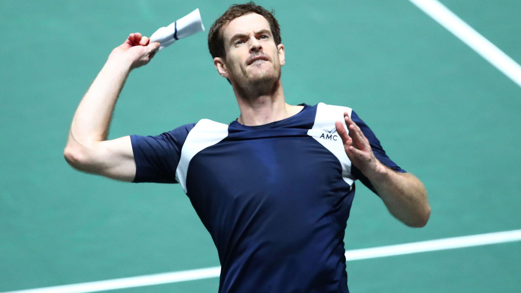 Problemas en la ingle evitarán que Andy Murray participe en el  Abierto de Australia
