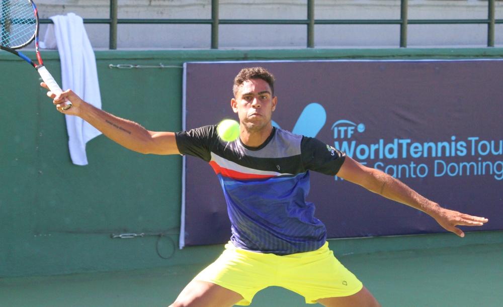 Olivares jugará final de dobles en el M15 Santo Domingo