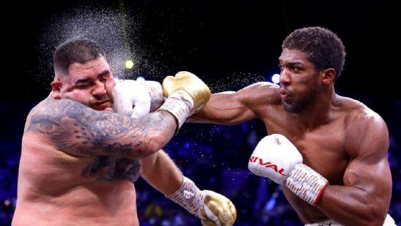 Ruiz fue indisciplinado en entrenamientos  para enfrentar a Joshua