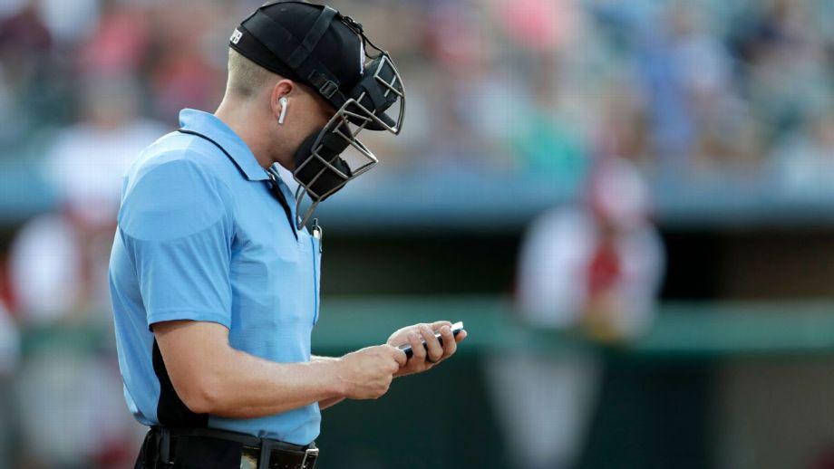 MLB acuerda con umpires probar zona strike automatizada