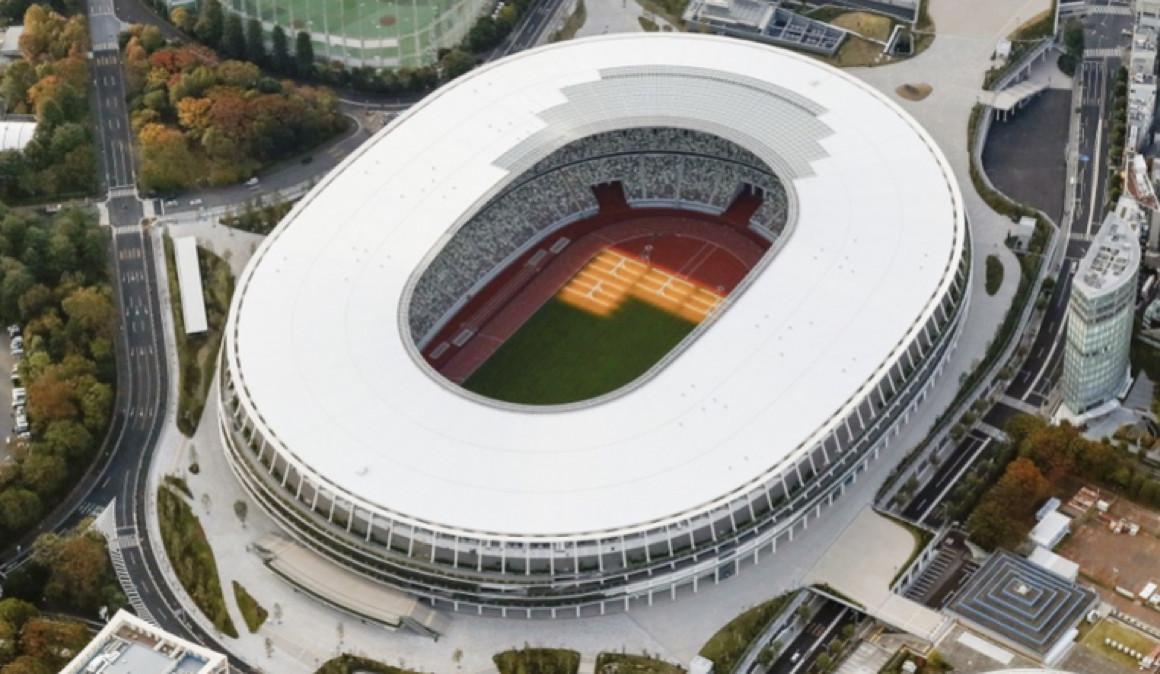 Inauguran nuevo estadio olímpico de Tokio; será estrenado en enero