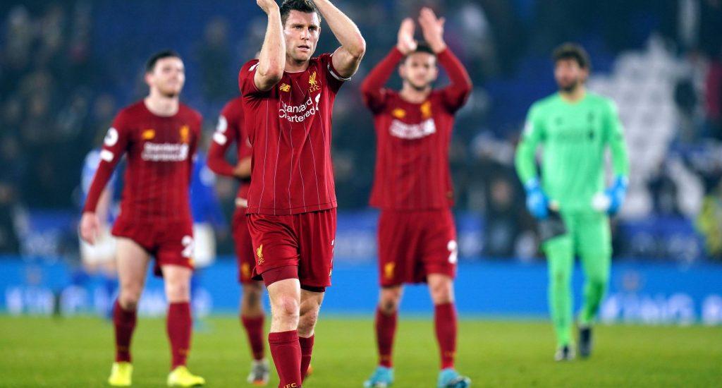 Liverpool goleó a Leicester y dio un paso hacia otro título en la Premier League