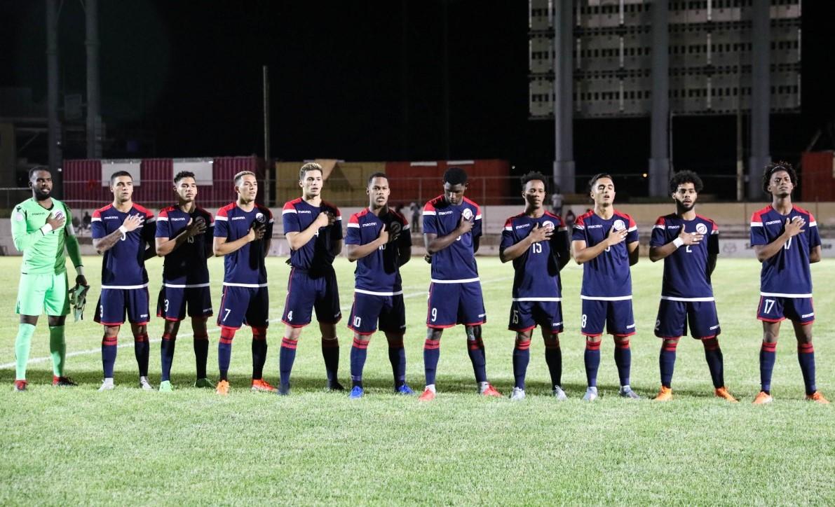 Selección dominicana sub-23 de fútbol conocerá sus rivales del Preolímpico en enero