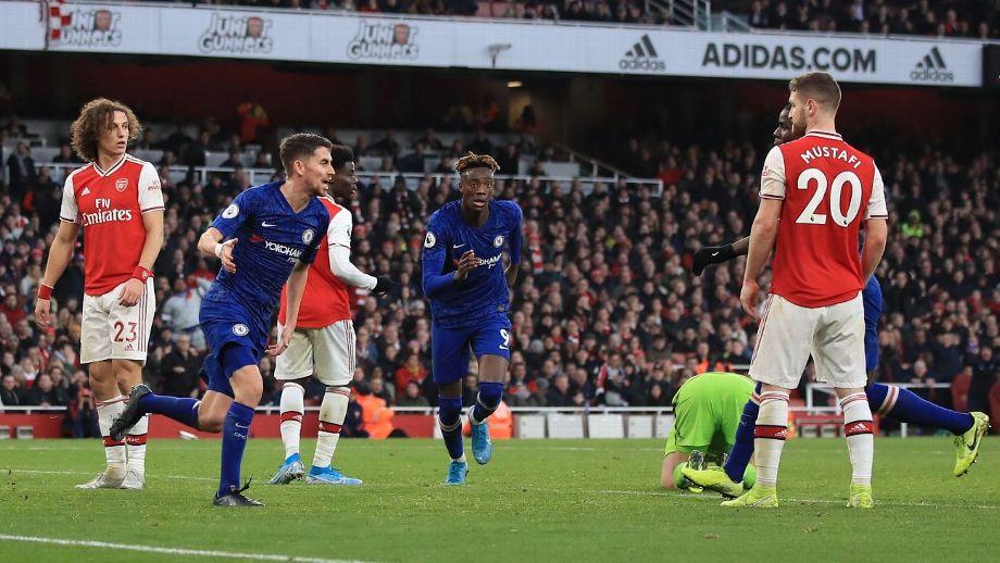 Gran remontada del Chelsea, vence al Arsenal en los minutos finales