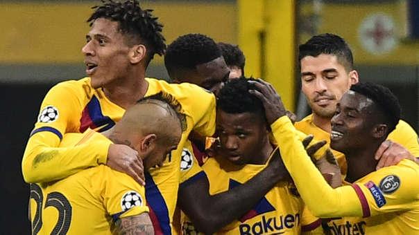 El Barcelona avanza octavos en la UEFA Champions League