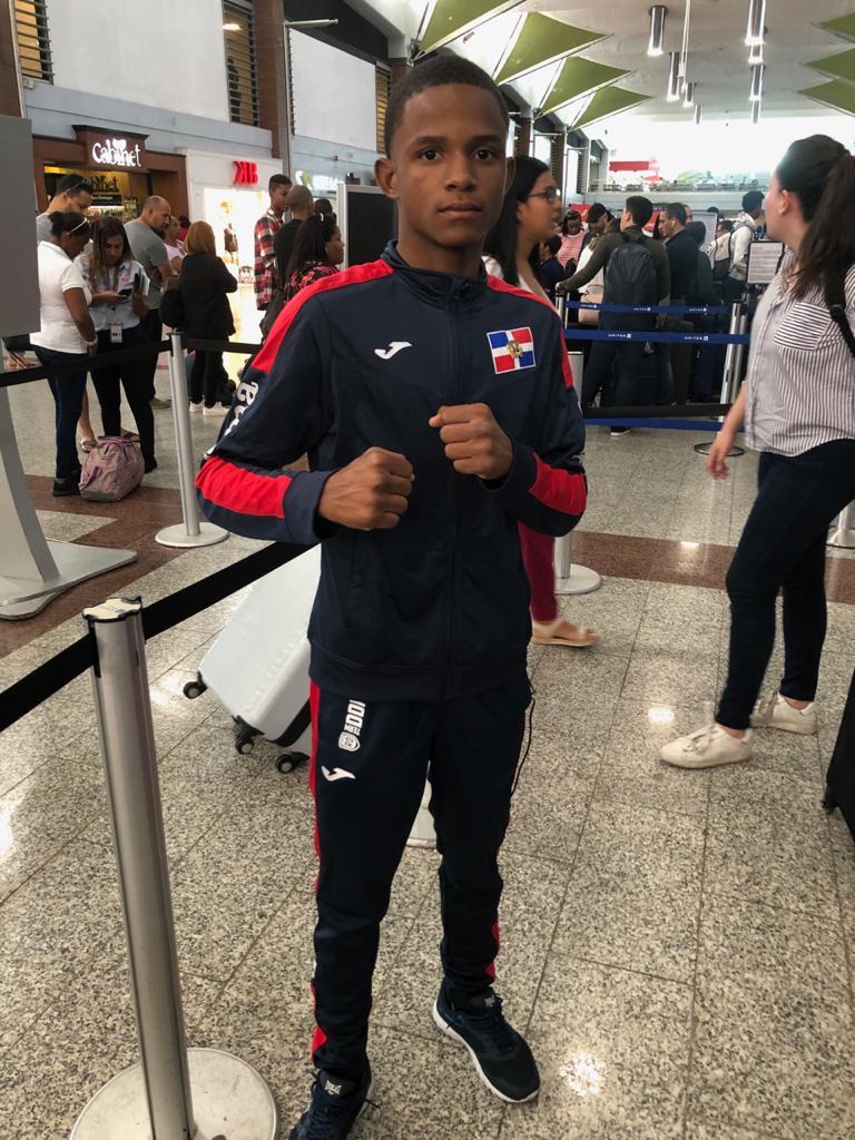 Púgil Bryan Mejía viaja a Japón a campamento de boxeo
