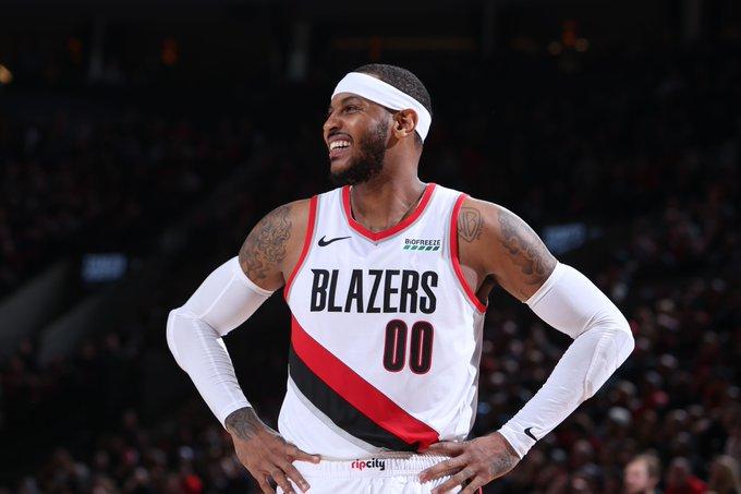 Trail Blazers garantizan a Anthony su contrato por el resto de la temporada