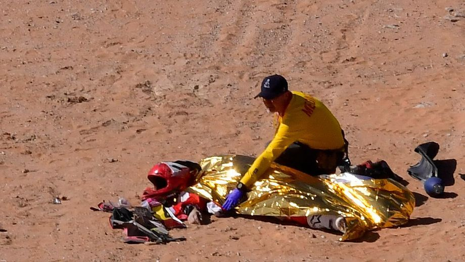 Piloto portugués Paulo Gonçalves pierde la vida en el Rally Dakar
