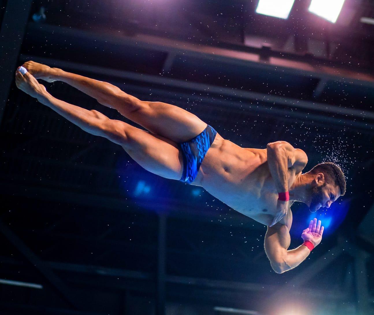 Argenis Álvarez busca retornar clavado dominicano a Juegos Olímpicos