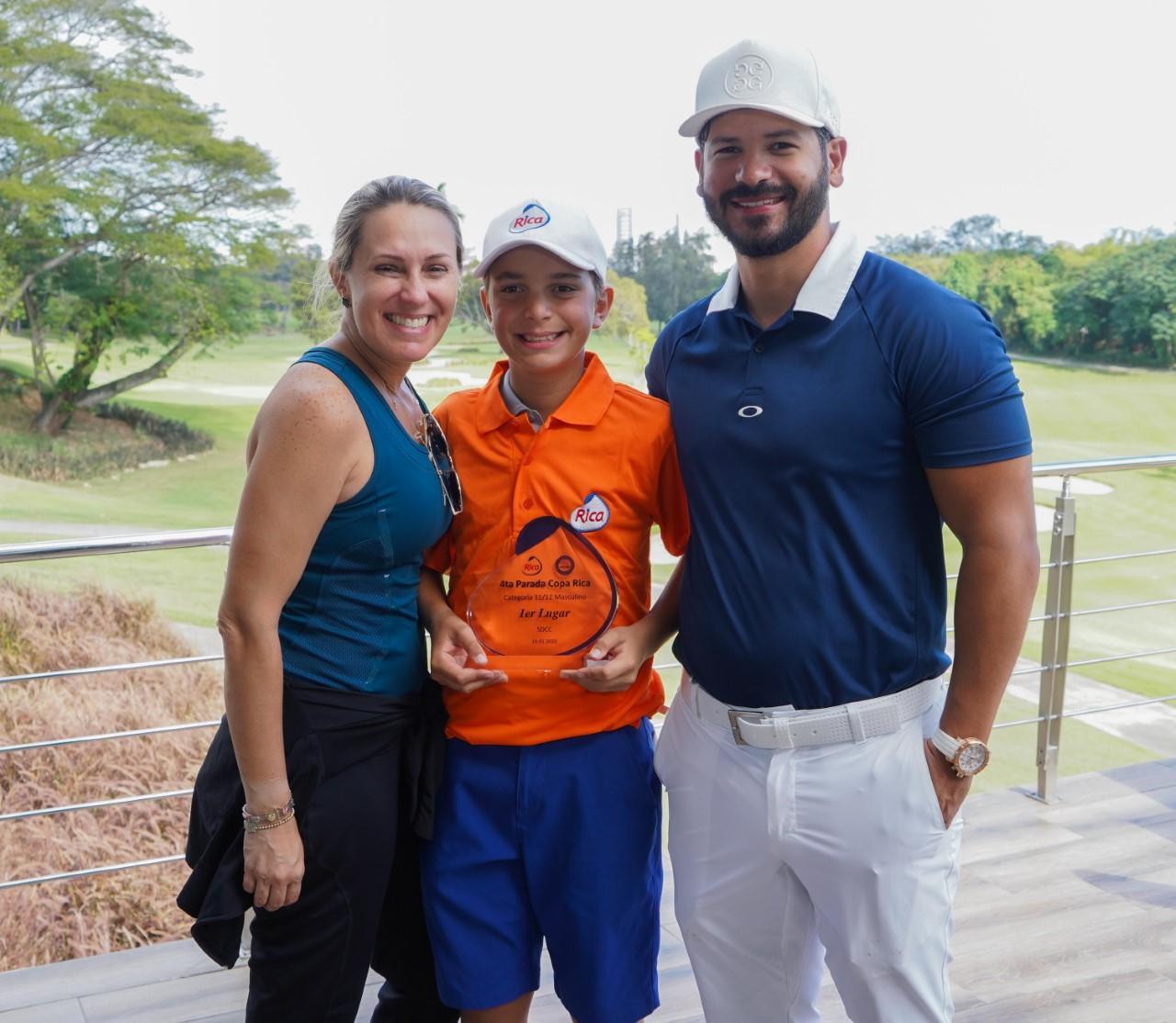 Sánchez gana cuarta parada Tour Juvenil; Huerta, el mejor score