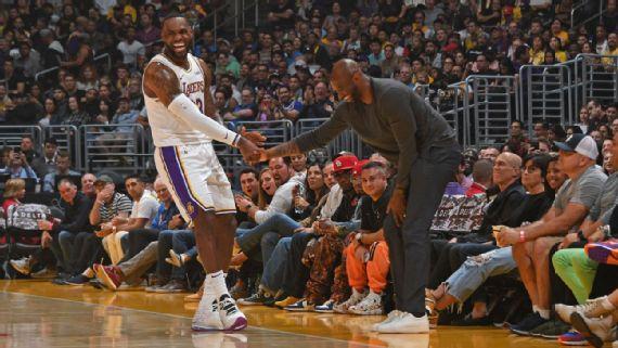 LeBron James desplaza del tercer puesto a Kobe Bryant en puntos anotados