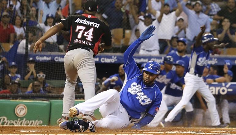 Licey llega a siete triunfos al derrotar a Leones; Carlos Hernández silencia bates de Águilas