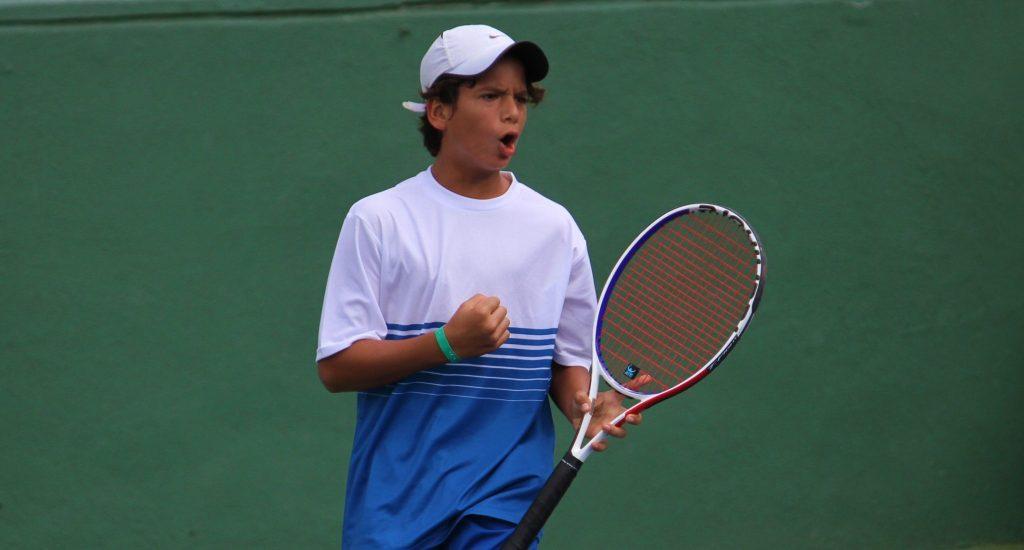 Selección U14 arranca con triunfo en el World Junior Tennis