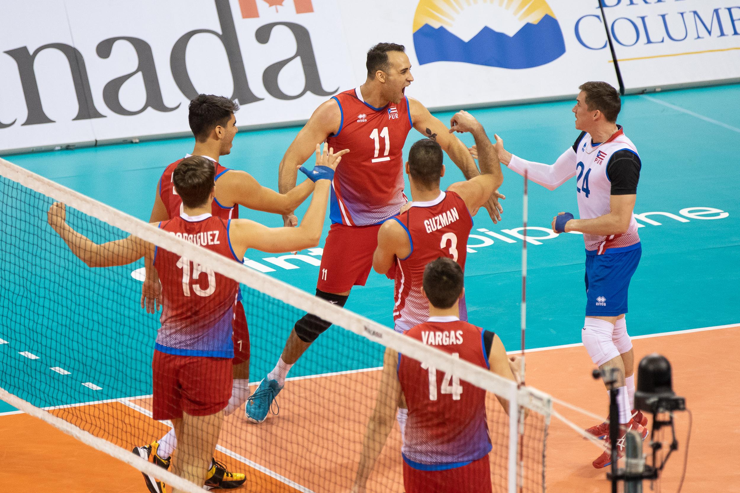 Canadá mantiene invicto; Puerto Rico sigue vivo clasificatorio masculino