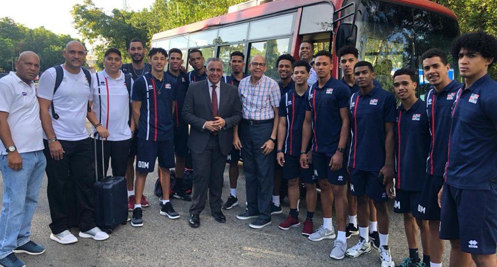 Equipo voleibol masculino viaja a Chile a serie de fogueo