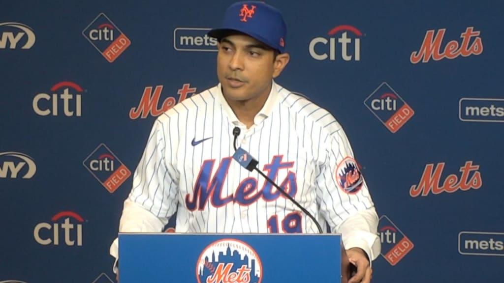 Al ser presentado, Luis Rojas asegura que llevará a Mets al éxito