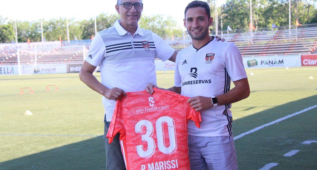 Cibao FC anuncia el fichaje del delantero argentino Pablo Marisi