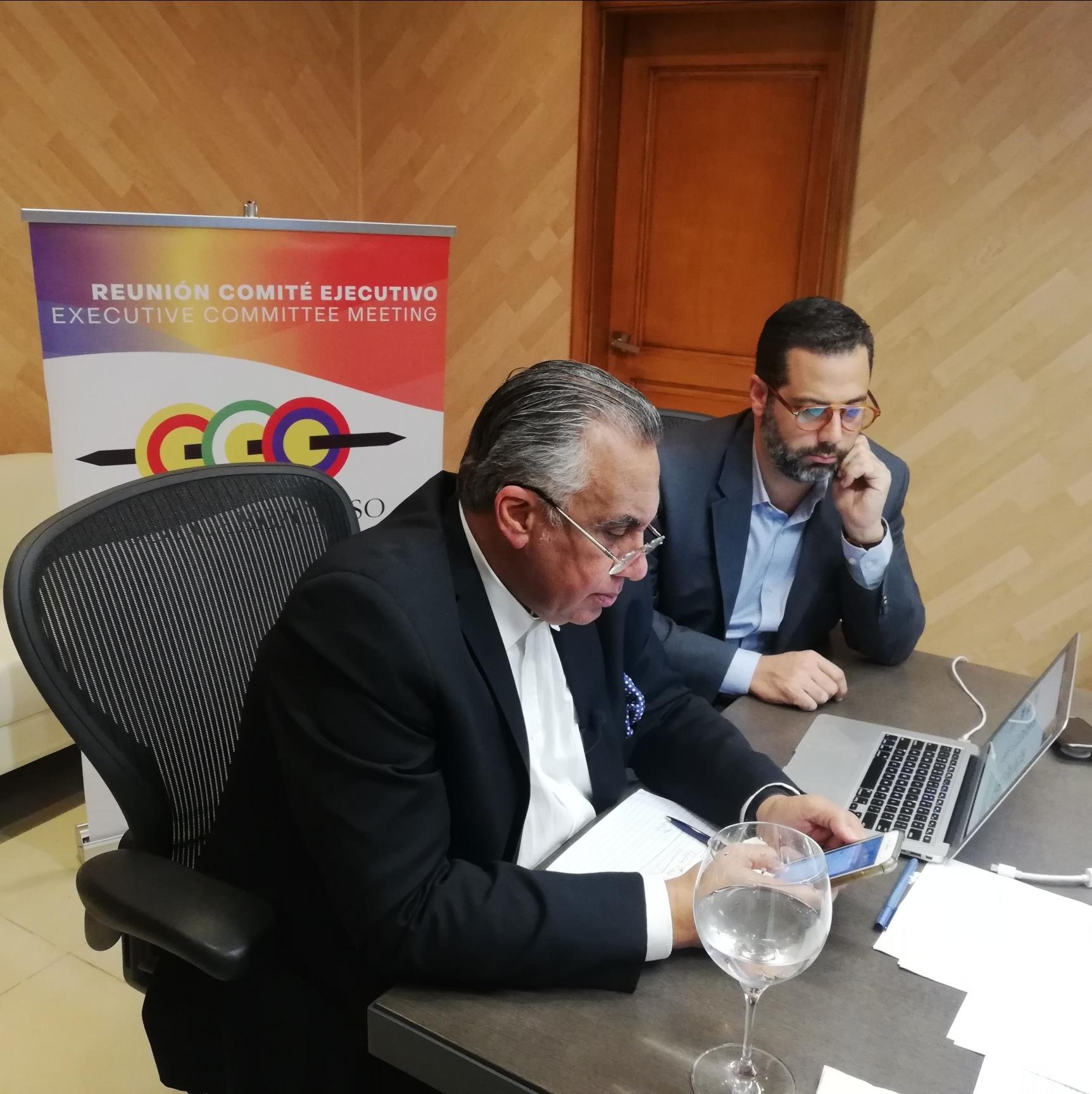 Comité Ejecutivo ODECABE se reune; Juegos Centroamericanos y del Caribe 2022 prioridad