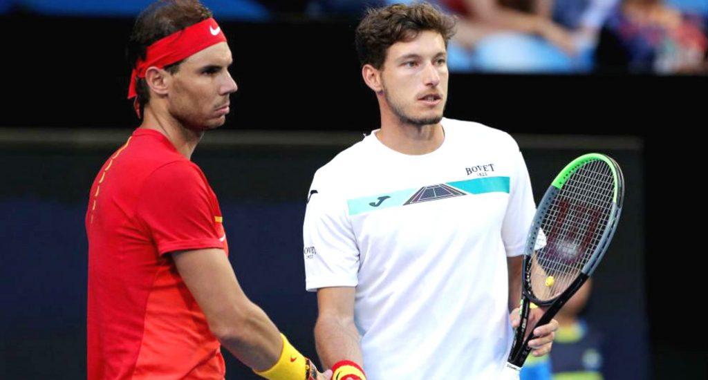 Rafael Nadal y Pablo Carreño vencen en dobles a Japón en Copa ATP