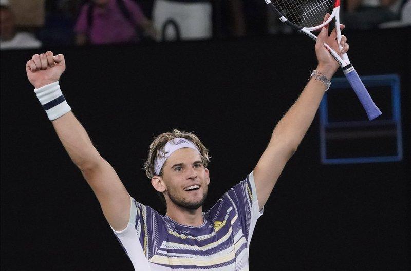 Dominic Thiem será rival de Novak Djokovic en la final del Abierto de Australia