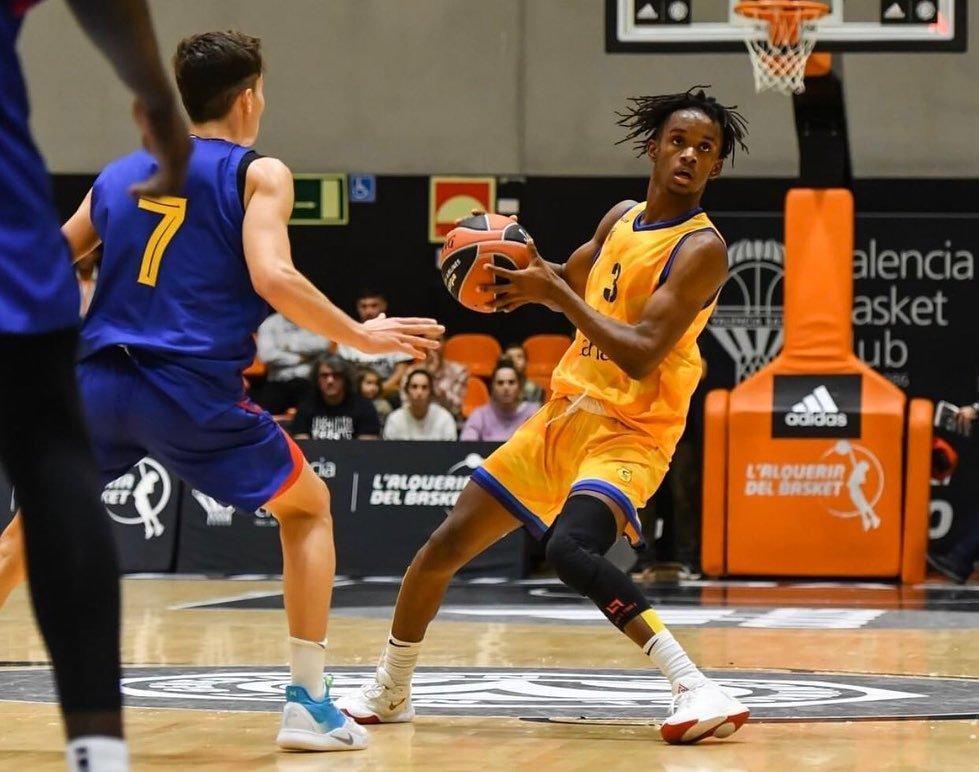 Jean Montero causa buenas impresiones en baloncesto español