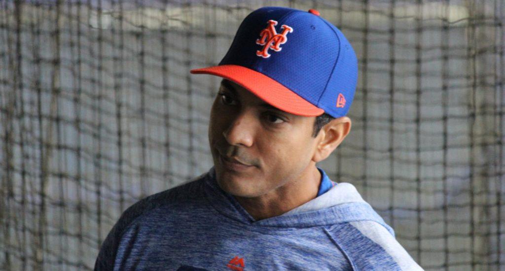 Luis Rojas considerado para dirigir los Mets de Nueva York