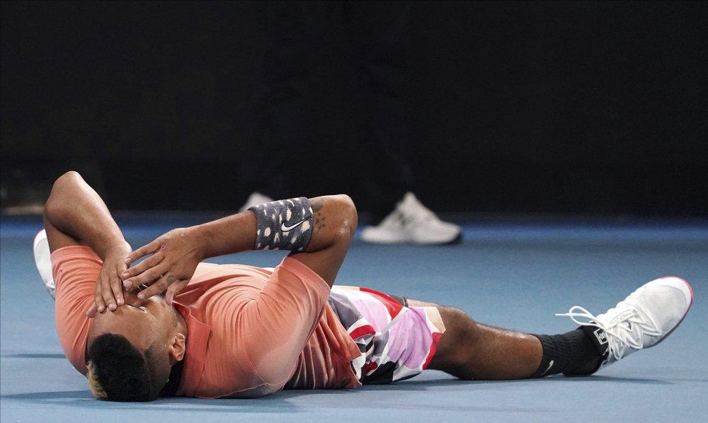 Nick Kyrgios avanza en  Abierto de Australia y se enfrentará a Rafa Nadal