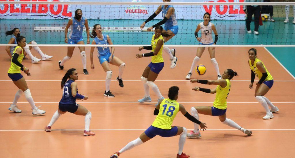 Selección de voleibol Argentina vence a Colombia y clasifica a Juegos Olímpicos