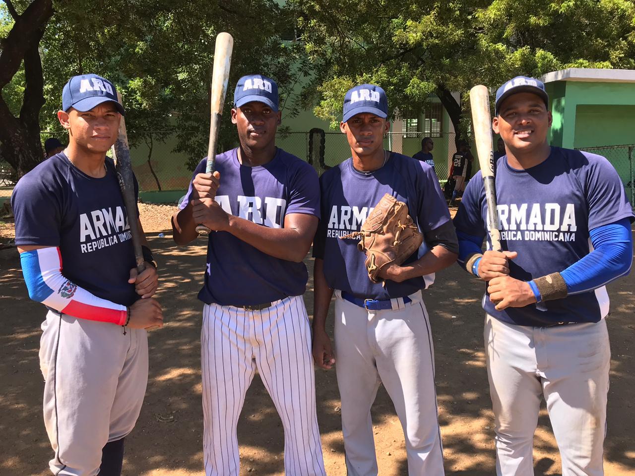 Armada Dominicana asume primer lugar en béisbol de Juegos Militares
