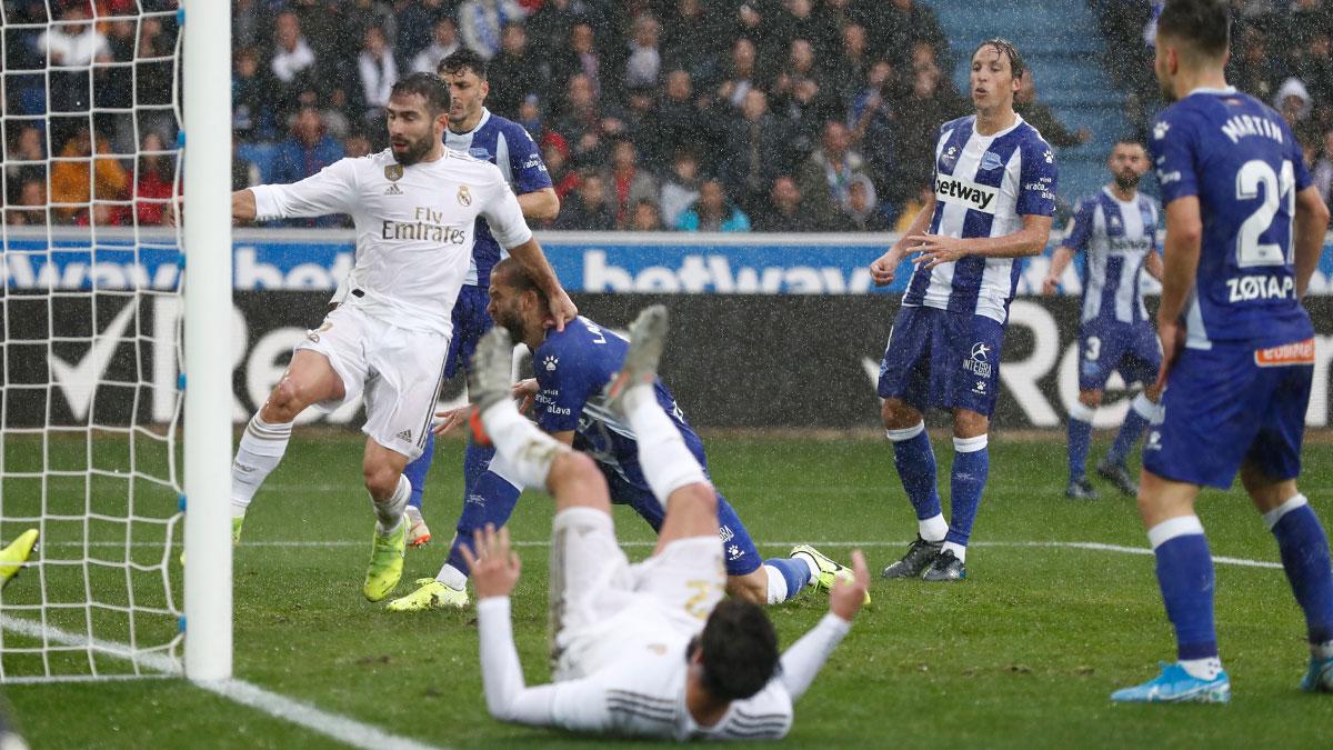 Real Madrid se afianza en el primer de La Liga